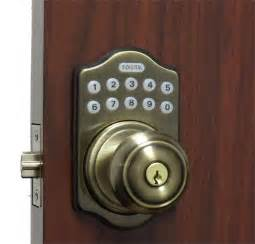 lockey e digital keyless electronic knob door lock antique