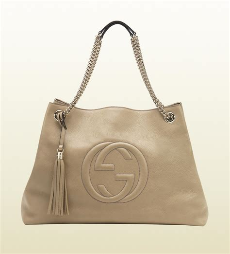 J Gucci Soho Kas gucci soho leather shoulder bag in lyst