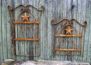 garden gate wall decor wrought iron wall decor