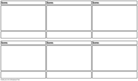 nine card page template png wide screen storyboard layout 16 9 storyboard template