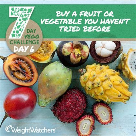 8 fruits and vegetables a day 8 best 7 day fruit and vegetable challenge images on