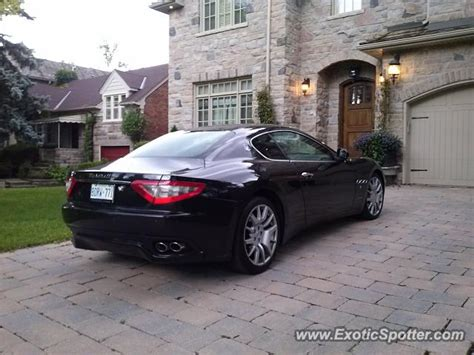Maserati Granturismo Spotted In Toronto Canada On 08 06 2013