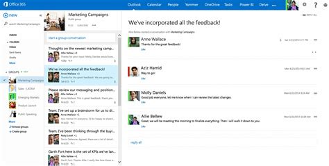 Office 365 Outlook Groups Delivering The Chapter Of Groups In Office 365