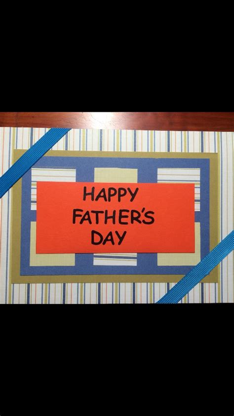 Handmade Fathers Day Card - handmade s day card perry cards