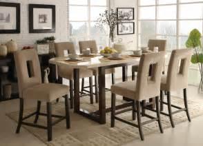 Terrific Bar Height Dining Table Set Designs Decofurnish
