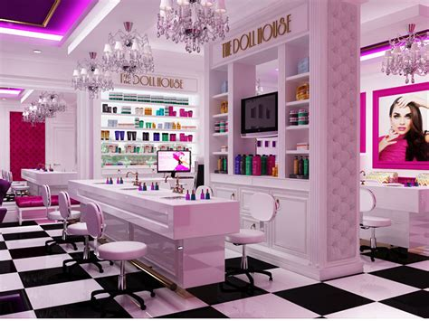 the doll house salon portfolio rosaco interiors