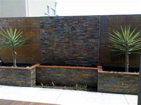 900mm wide cascade water wall water feature effect