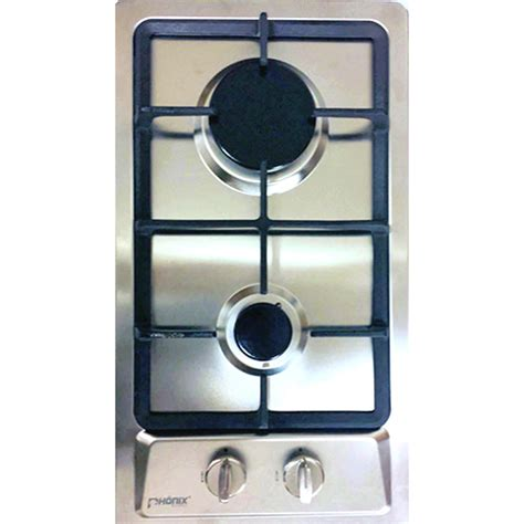 Two Burner Cooktop Domino S 30cm Built In Gas Hob 2 Burner Cooktop Stainless