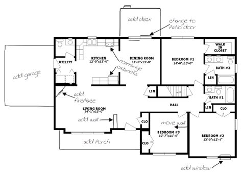 floor plans for country homes floor plan exles for homes