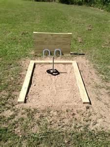 horseshoe pit house ideas backyard ideas