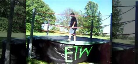 how to make a backyard wrestling ring how to make a wrestling ring 171 wrestling wonderhowto