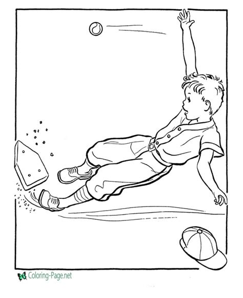 baseball color page sports coloring pages color plate baseball coloring pages