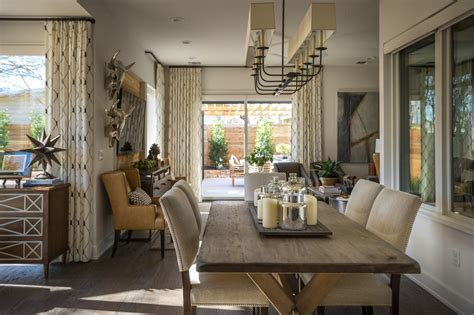 the living room restaurant dining room pictures from hgtv smart home 2015 hgtv