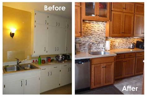 resurfacing kitchen cabinets before and after kitchen solvers customer review eric s of la crosse wi