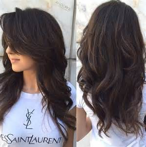 Layered hairstyles for long hair style samba