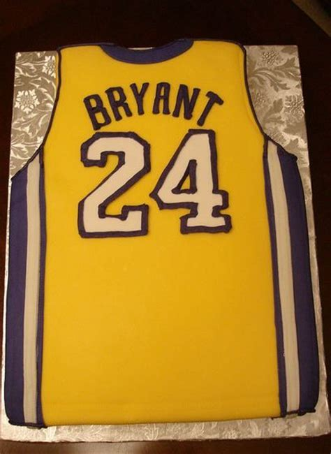 la lakers cakes bryant bryant lakers home jersey