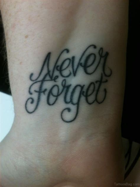 12 forgive forget wrist tattoos