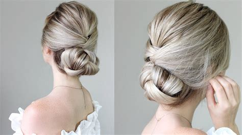 hairstyles that can be done with plats how to simple updo youtube