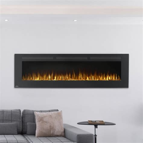 napoleon linear wall mount electric fireplace