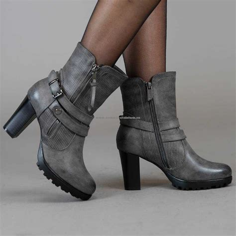 s shoes ankle boots leather look ankle boots
