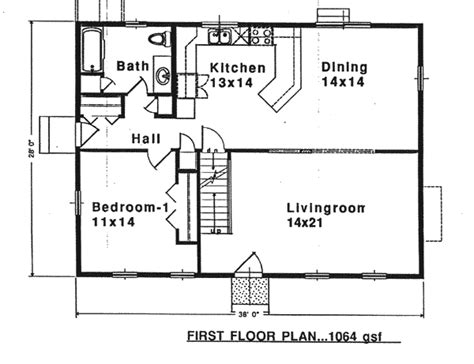 saltbox floor plans house plan 94007 at familyhomeplans com