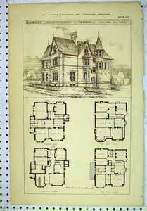Edwardian House Plans Vintage House Plans Classic Home