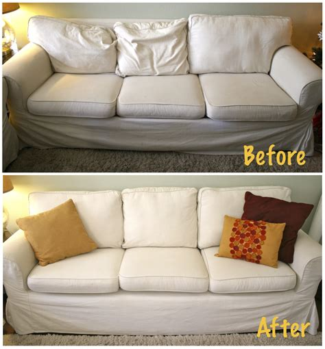 sagging couch cushion here s how to make your sagging couch cushions look plump