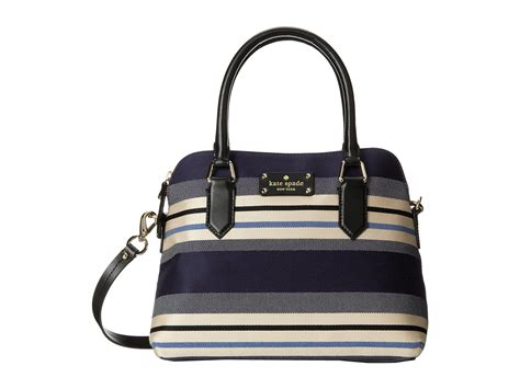 Dijamin Kate Spade Maise Stipes kate spade new york grove court stripe maise in blue lyst