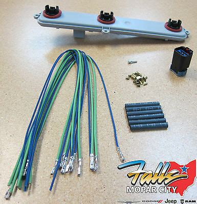 dodge ram  tail light wiring harness
