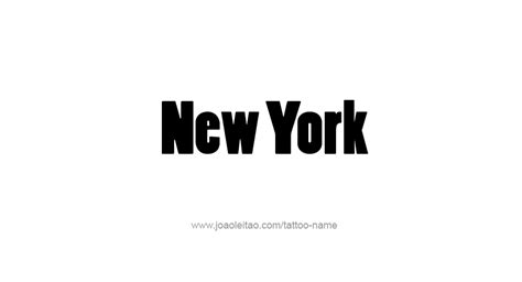 tattoo fonts new york new york usa state name tattoo designs tattoos with names