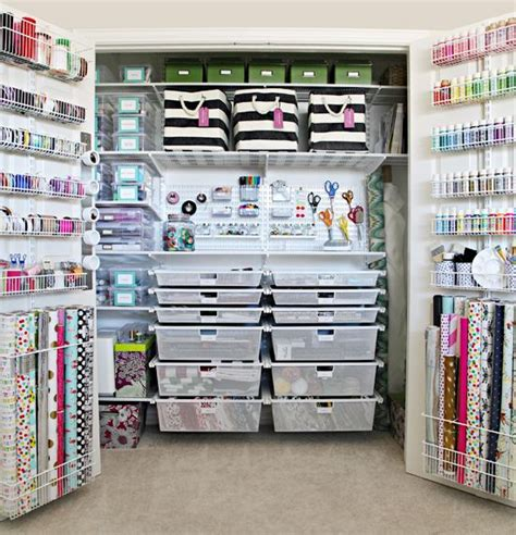Craft Room Closet Storage Ideas by Iheart Organizing The Ultimate Craft Closet Organization