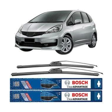 Wiper Mobil All New Jazz Bosch Clear Advantage Frameless 2 Pcs Kn Kr klikonderdil blibli