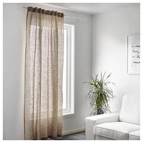 tende ikea lino linen curtain tende in lino tessuto a metraggio aina