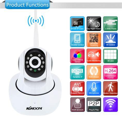 ip wi fi kkmoon tp c549t ip wifi wireless home cctv 1080p