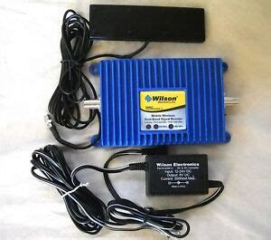 wilson cellular 271201 mobile wireless dual band signal booster with antenna ebay
