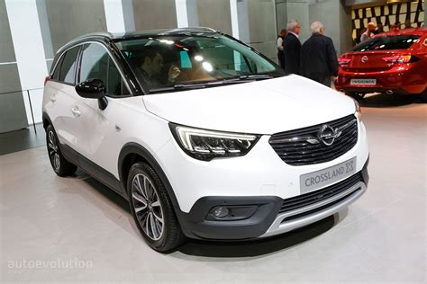 opel geneve opel crossland x is now a peugeot in geneva autoevolution