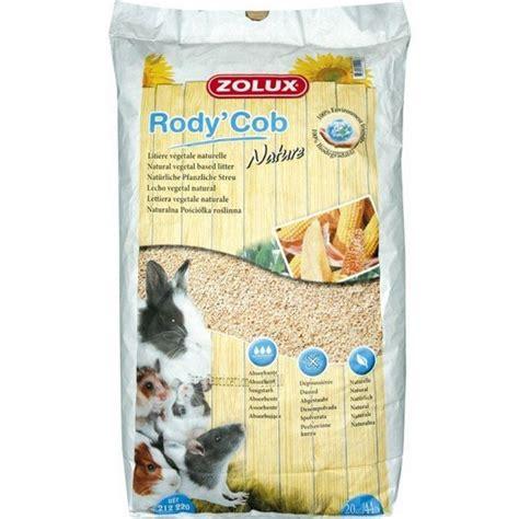 lettiere per conigli nani lettiera per roditori rody s cob nature 20 kg zolux