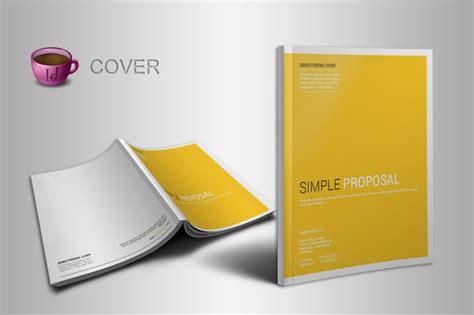 Indesign Proposal Template Brochure Templates On Creative Market Creative Indesign Templates