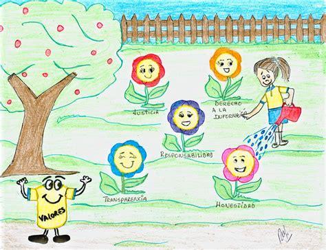 imagenes animadas sobre los valores dibujo sobre los valores imagui