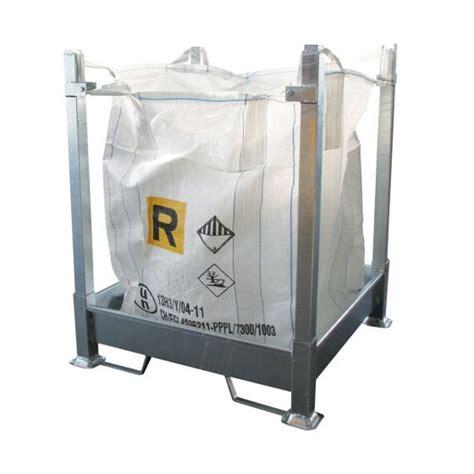 struttura porta struttura porta saccone big bag smontabile in acciaio