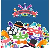 Fondo De Carnaval Con Iconos Disfraces  Descargar