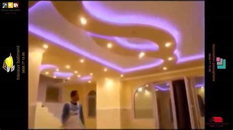 cuisine fascinante faux plafond placo salon faux plafond