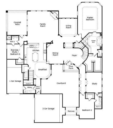Taylor Morrison Homes Floor Plans | positano floor plan level 1 taylor morrison dream