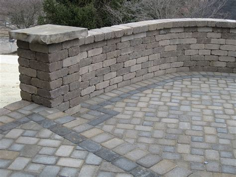 Paver Wall Paver And Wall Work Flickr Photo