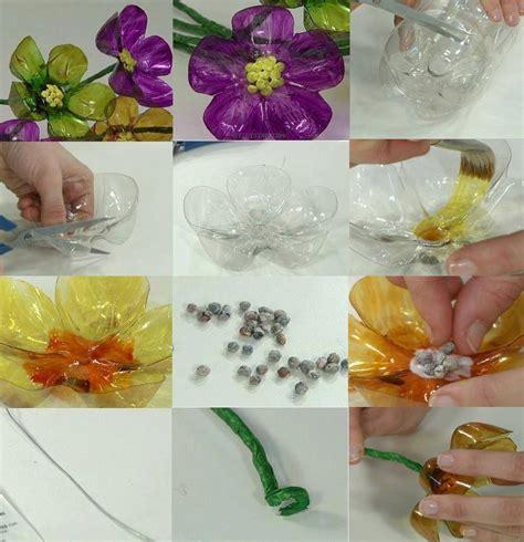 imagenes de flores reciclables c 243 mo hacer flores de botellas recicladas para decorar