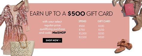 Neiman Marcus Gift Card Balance - 500 gift card giveaway at neiman marcus nerdwallet