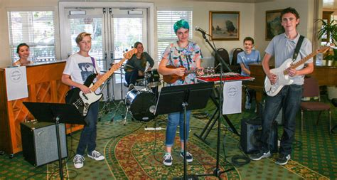 Garden Of Band Jazz Band Performs For Retirement Communities