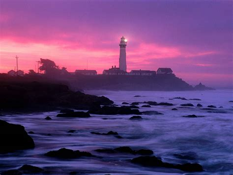 Light California by Lighthouse Sea And Picture