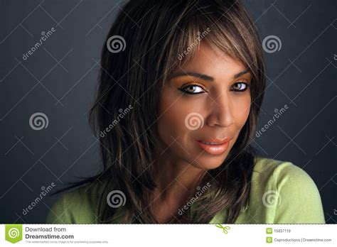 pretty older black lady beautiful mature black woman headshot 7 royalty free