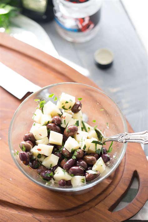 manchego cheese  marinated olives lemonsforlulucom